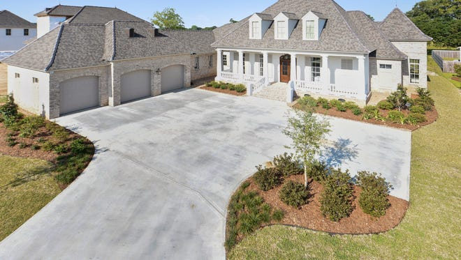 This 5 bedroom, 3 1/2 bath home is located at 306 Red Robin Trail in Lafayette. It is listed at $1,259,000.