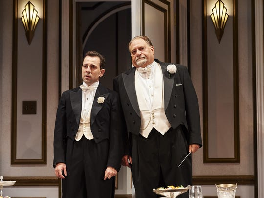 """Rob McClure (left) and Ron Orbach in """"A Comedy of Tenors"""" at McCarter Theatre in Princeton."""