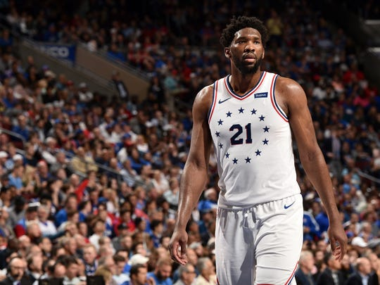 Philadelphia 76ers center Joel Embiid was drafted third overall back in 2014.