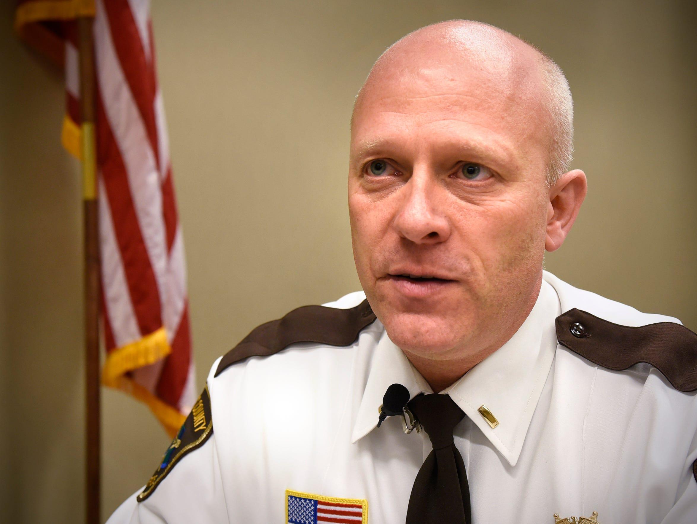 Stearns County Lt. Robert Dickhaus talks about what