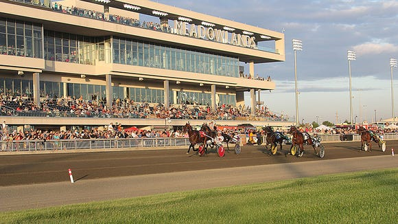 The Meadowlands Racetrack opened its new $97.6 million grandstand last November.