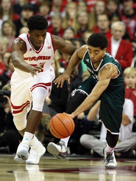 NCAA Basketball: Green Bay at Wisconsin