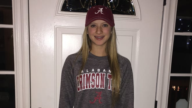 Enka freshman Kloyee Anderson has committed to play college softball for Alabama.