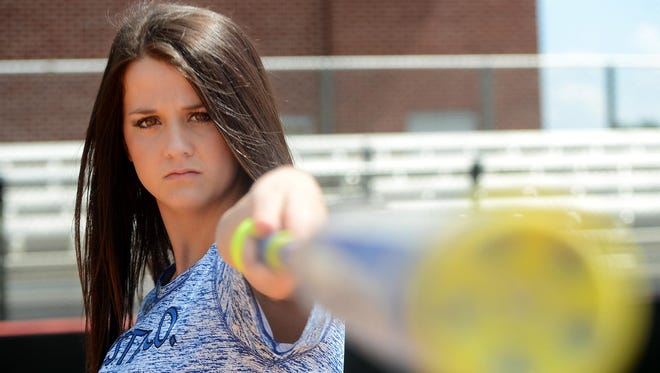 Chester County's Baylee Smith is the 2016 All-West Tennessee Softball Hitter of the Year.