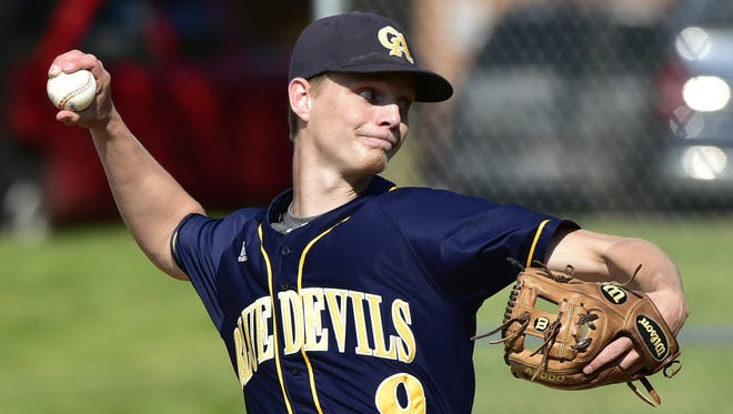 After a surging start to a COVID-shortened 2020 season, Greencastle's Myles Gayman signed a contract with the Cincinnati Reds.