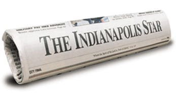 Image of The Indianapolis Star newspaper