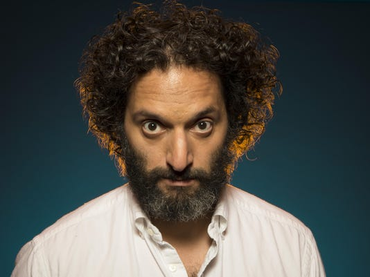 Jason Mantzoukas Portrait Session