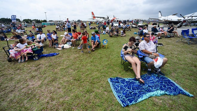 Aeronautics amateurs and aficionados alike got up close and inside looks at variety of aircraft Saturday, April 21, 2018, during the Vero Beach Air Show at the Vero Beach Regional Airport.