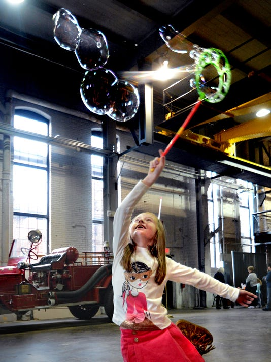 Family Day 2014 at the Agricultural & Industrial Museum