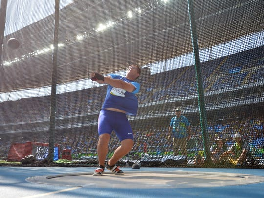 Cornell's Rudy Winkler finished 18th in hammer qualifying Wednesday at the Rio Olympic Games and did not advance to the final. Winkler, 21, of Sand Lake, had a distance of 235 feet, 6 inches. It took a 241-foot throw to make the cut to 12 for Friday night's final. The NCAA runner-up finished close behind American teammate Connor McCullough, who was 16th at 239-1. The third U.S. entry, Kibwe Johnson, fouled all three of his attempts.