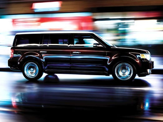 For 2010, Ford Flex offers outstanding fuel economy in the full-size crossover segment with 17 mpg city/24 highway and an unsurpassed 20 mpg combined — just one of a number of new Ford products delivering the best or among the best fuel economy. It's safe, cool and practical, and recommended for teen drivers by the Insurance Institute for Highway Safety.