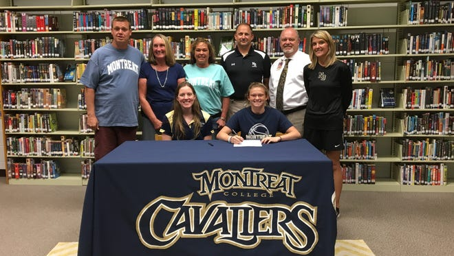 North Buncombe senior Lauren Guthrie has signed to play college basketball for Montreat.