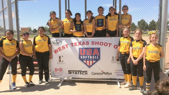 Carlsbad's Atomic Blast 12U softball team went undefeated at the West Texas Shootout tournament last weekend.
