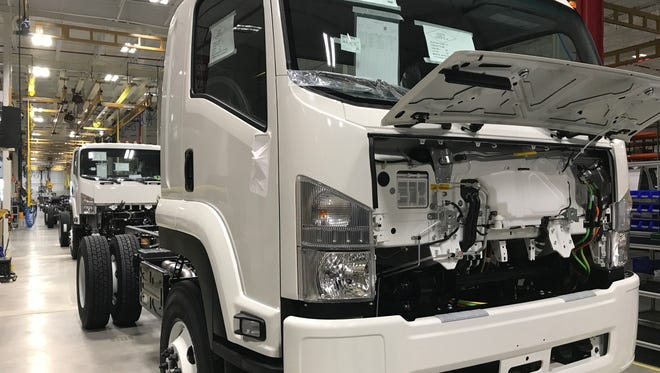 Spartan Motors built a $6.5-million manufacturing plant in Charlotte to build the 2018 Isuzu FTR Class 6 medium-duty truck.