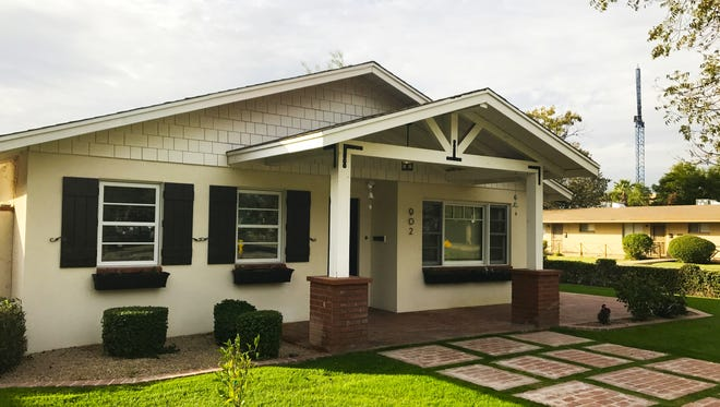 Their house sits on a corner lot in Tempe's much sought after Maple-Ash neighborhood.