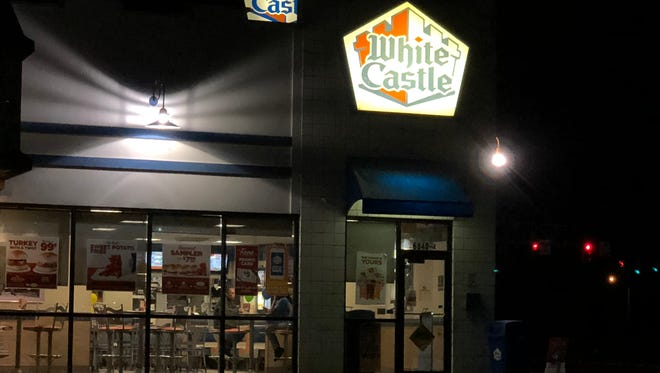 White Castle in Evansville is accepting reservations for Valentine's Day.