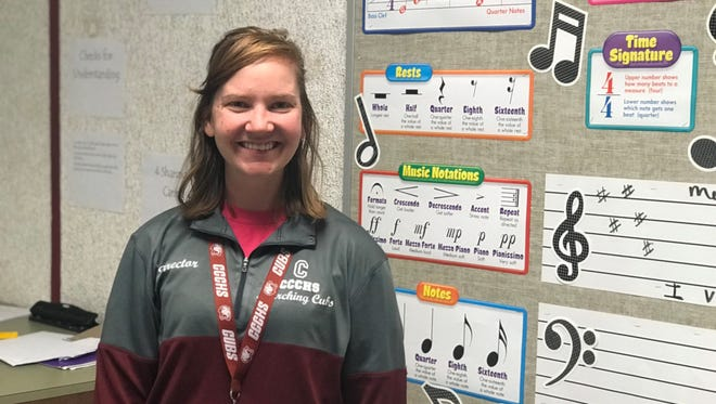 Band director Destiny Holt is still in her first year teaching at Cheatham County Central High School, and she's made enough of an impact to be nominated for the GRAMMY Music Educator Award.