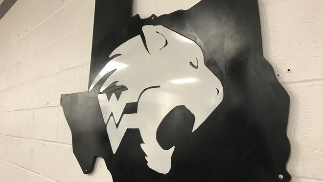 Water Valley Logo inside weight room