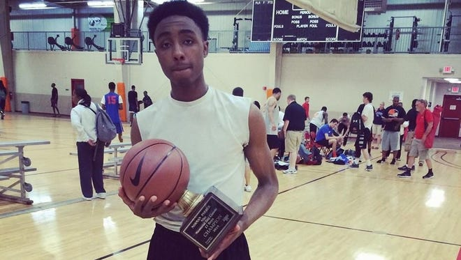 Erwin junior Malik Moore is the reigning Citizen-Times All-WNC Boys Basketball Player of the Year.