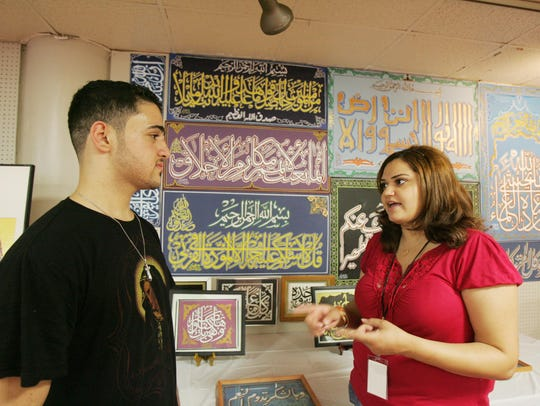 Henna tattoos and more are at the Arab and Chaldean