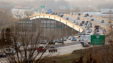 Heavy traffic is expected on area highways over the Thanksgiving holiday.