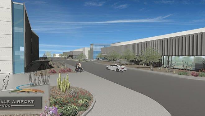 Scottsdale Airport will undergo a $25 million makeover.