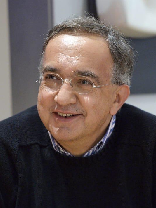 FCA CEO Sergio Marchionne