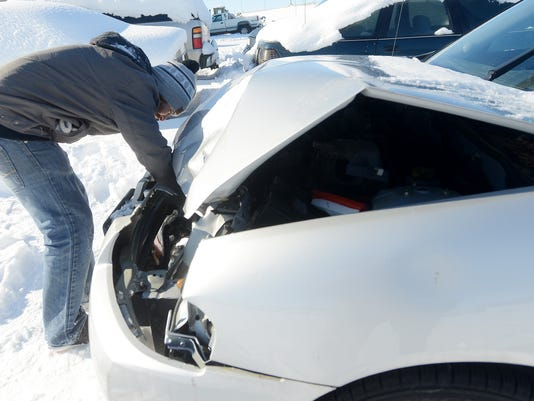 snow plaw accident