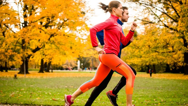 Finding someone to exercise with is a good way to keep a routine.