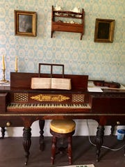 This shot shows a 1830s piano similar to the one Juliette