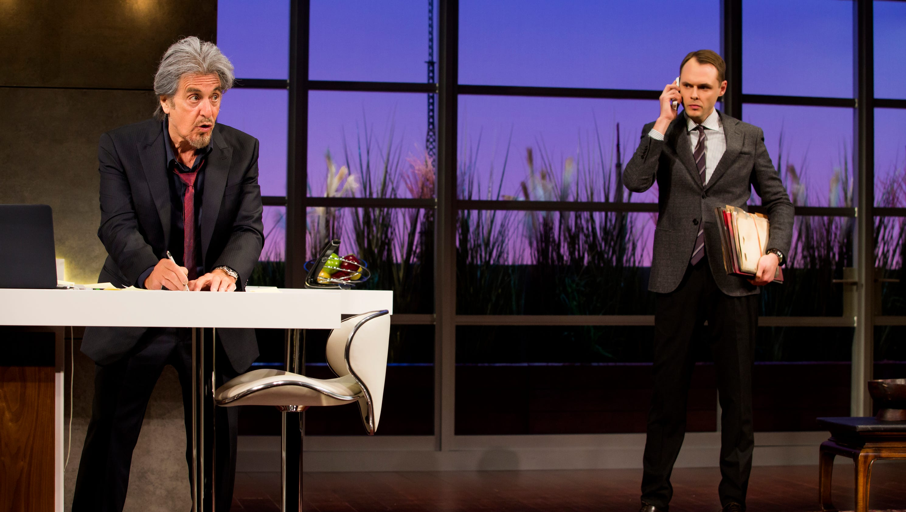 Rye actor starring on broadway with al pacino