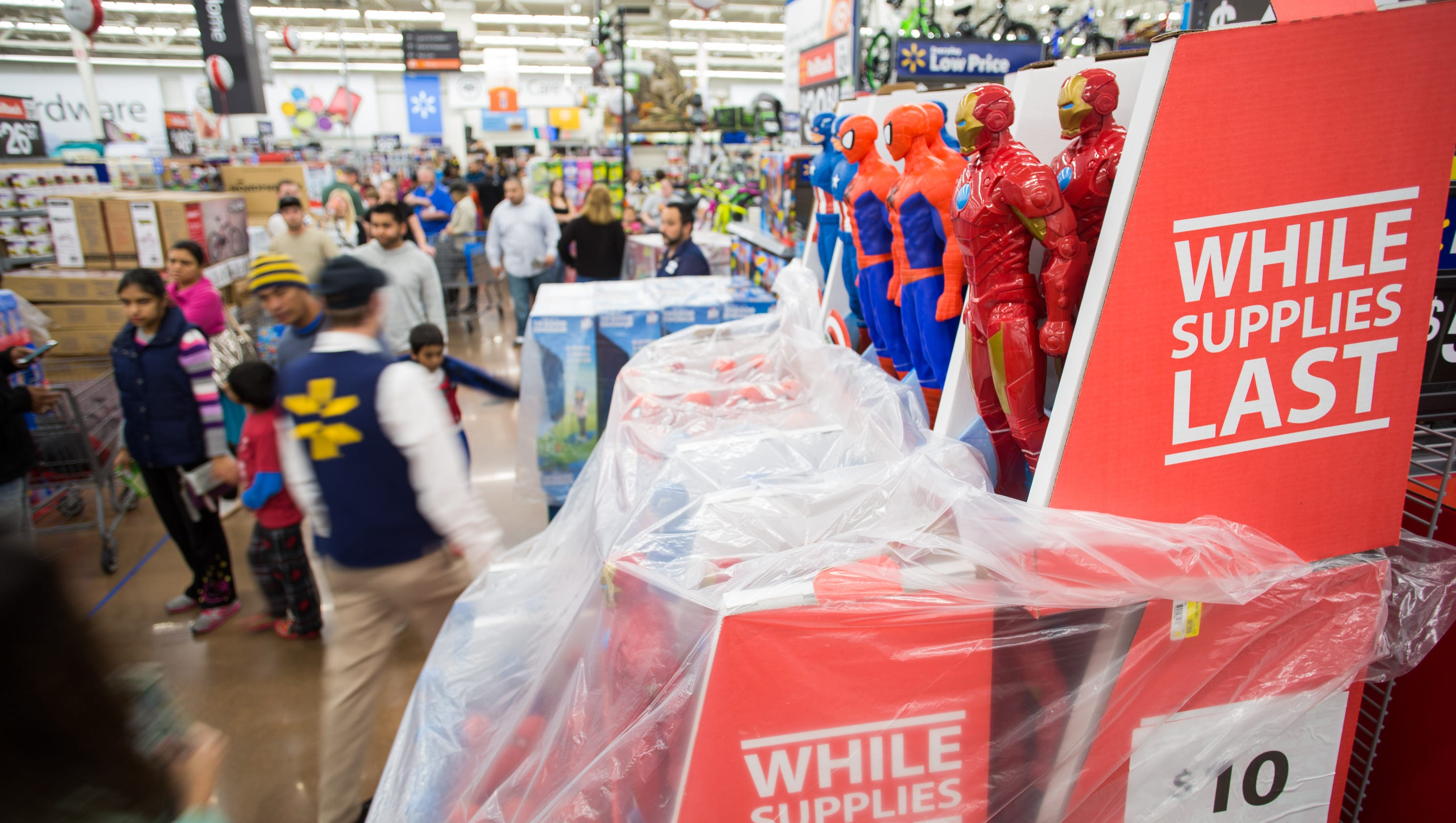 Black Friday shoppers bag tech, toy deals