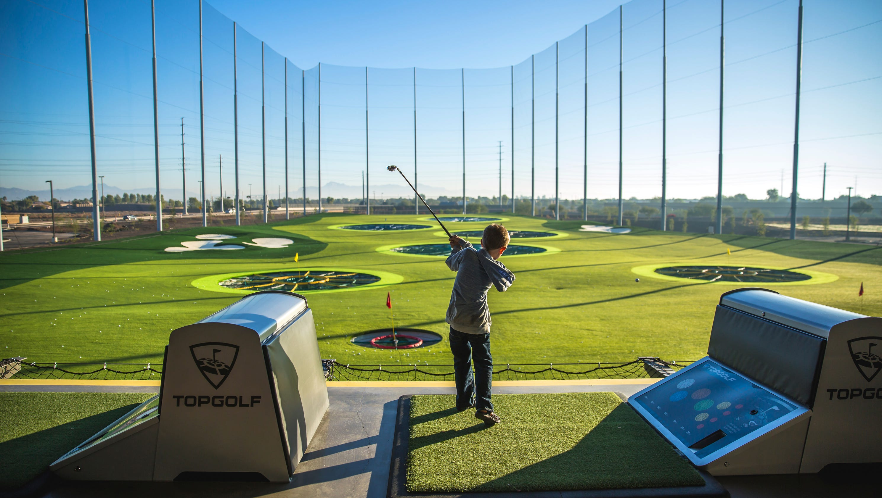 Tee Time Delayed For Fishers Topgolf