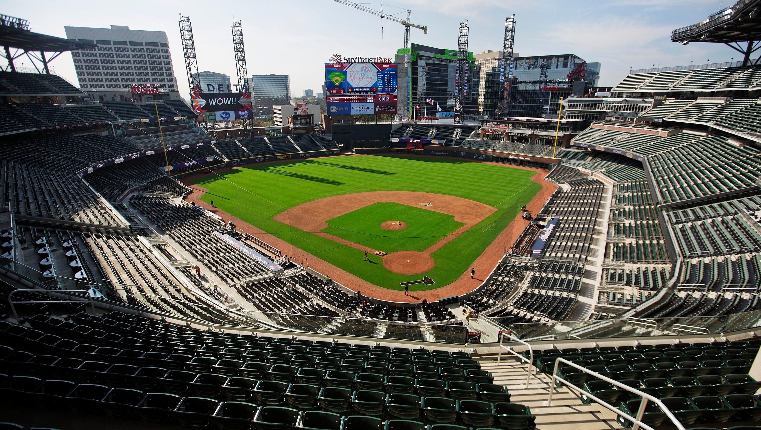 SunTrust Park Atlanta Braves New Stadium
