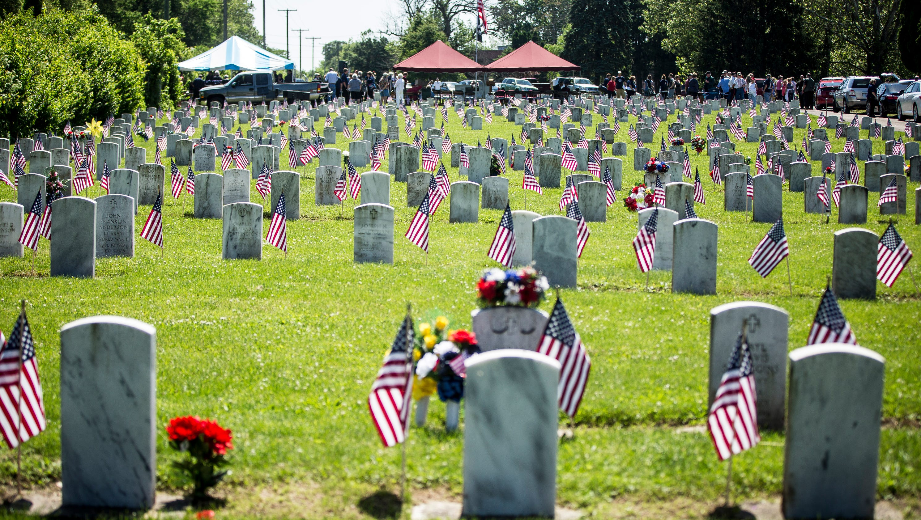 Remember the fallen: Memorial Day services planned