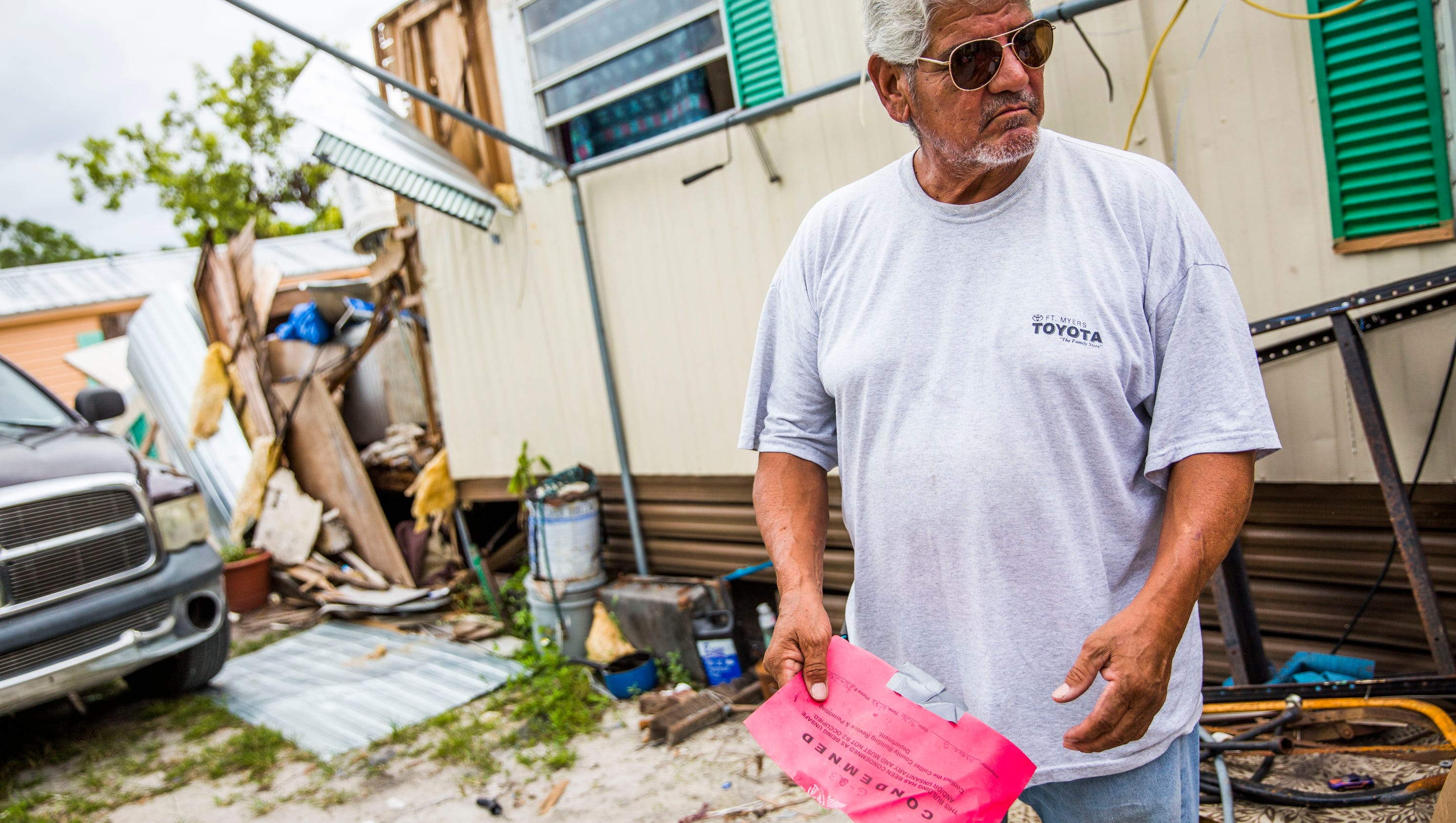 Coast is clear? Some near Naples still struggling after Irma