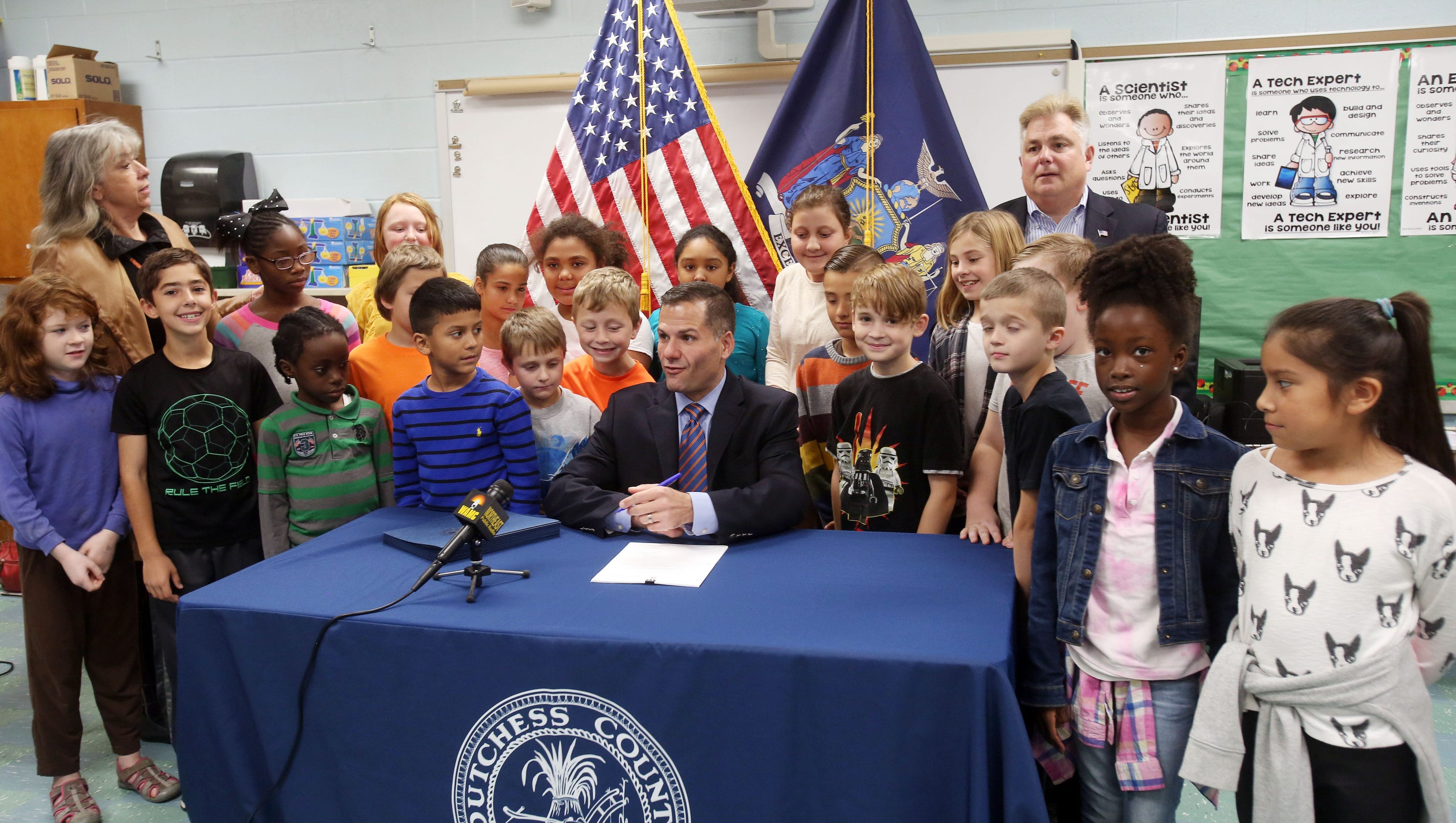 3rd-grade class project leads to polystyrene foam cup ban in N.Y. county