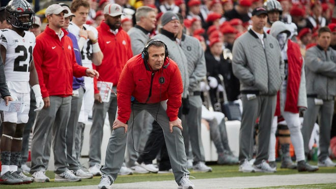 Ohio State head coach Urban Meyer is looking for a new wide receivers coach.