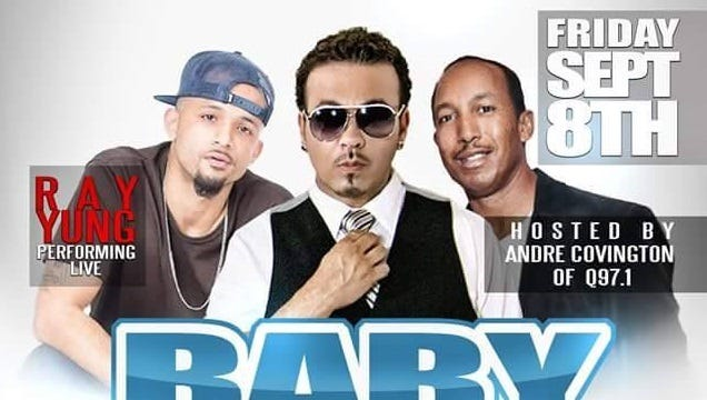 Rappers Baby Bash and Ray Yung head up a concert in Visalia Friday.