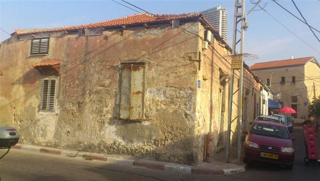 This building in Tel Aviv  is one of the many properties in Israel once owned by people who died in the Holocaust and whose heirs are unknown.