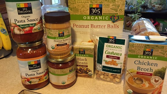 In restocking my pantry, I bought several of the Whole Foods Market Organic 365 brand.