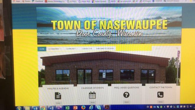 Town of Nasewaupee website