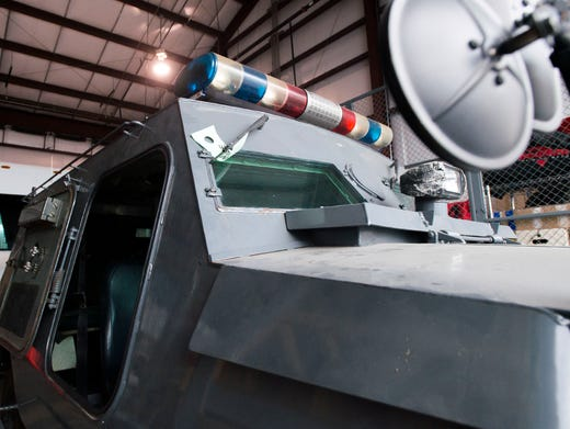 Military surplus crucial for local police agencies