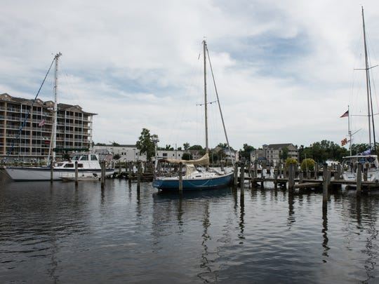 A view of the Salisbury Marina on Wednesday, June 22, 2016.
