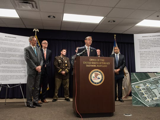 Rod J. Rosenstein, US attorney for the District of