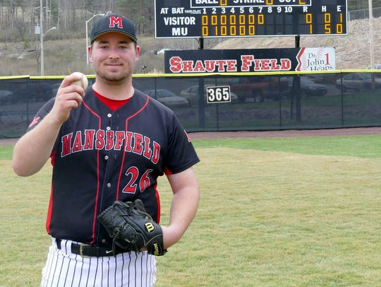Mansfield's Luke Hils no-hit Kutztown in the second