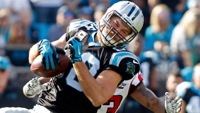 Greg Olsen and the Panthers meet the Broncos in the Super Bowl Sunday.
