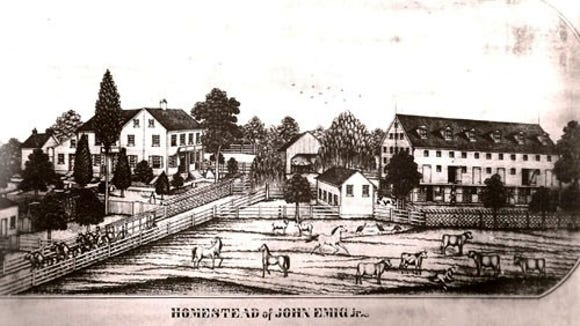 Civil War stories are the most-opened by readers of the York County History newsletter. Emigsville, seen here, was one of the towns with the richest stories about the Confederate invasion of York County in 1863