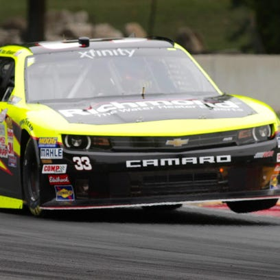 NASCAR - practice session for Xfinity series, Aug. 28