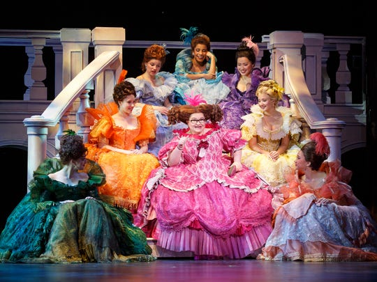 The company of 'Rodgers + Hammerstein's Cinderella'
